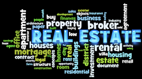 Real Estate Word Cloud Infographic Thumbnail Image